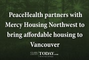 PeaceHealth partners with Mercy Housing Northwest to bring affordable housing to Vancouver