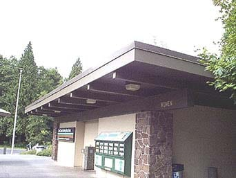 Travelers who need to take a break from the road will soon have access to more amenities at the southbound Interstate 5 Gee Creek Rest Area located south of Ridgefield. Photo courtesy of Washington State Department of Transportation