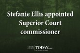 Stefanie Ellis appointed Superior Court commissioner