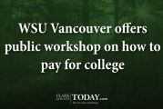 WSU Vancouver offers public workshop on how to pay for college