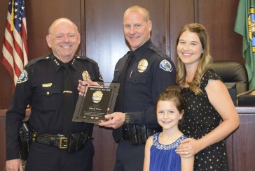 Battle Ground Police Officer Clint Fraser named 2018 Officer of the Year