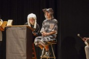 Woodland Middle School's new drama class and after-school club performs