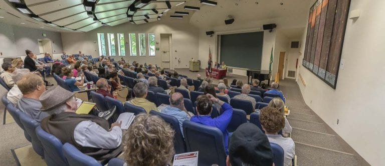 17th District Legislators hold a town hall meeting at WSU Vancouver. Photo by Mike Schultz