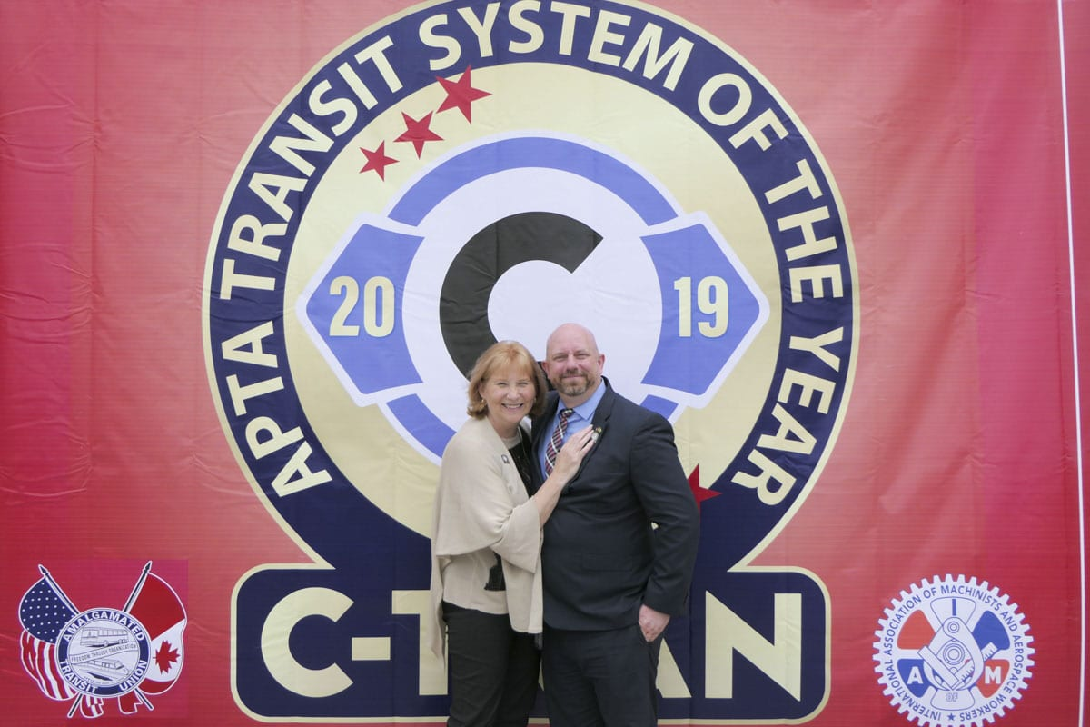 C-TRAN honored as nation's best Public Transit system