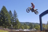 Washougal MX National: Love for motocross led Paulson to announcer's tower