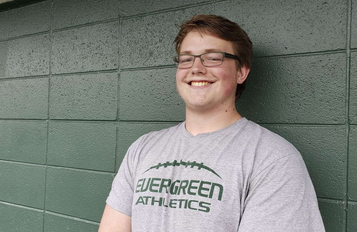 Freedom Bowl: Evergreen's Brandon Abt is back up from Down Under