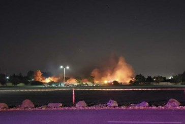 Inaugural Fourth at the Fairgrounds cut short by grass fire