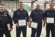 Clark County Fire District 6 honors heroes from river rescue