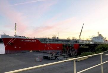 Intermezzo calls the Port of Vancouver USA on her maiden voyage