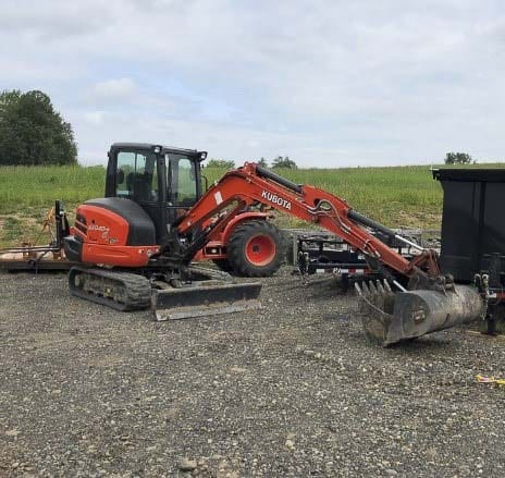 In the mid-afternoon of Sun., June 23, a Kubota Excavator valued at $65,000 was stolen from a construction site just south of the Cedars Golf Course clubhouse located at NE 152nd Ave and NE 181st St.