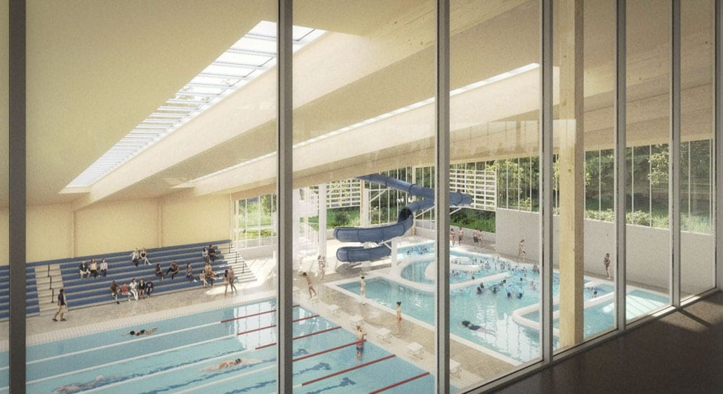 Camas takes Community Aquatics Center design, sports field renovations to next step