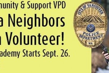 Vancouver Police recruiting for upcoming Neighbors On Watch Academy