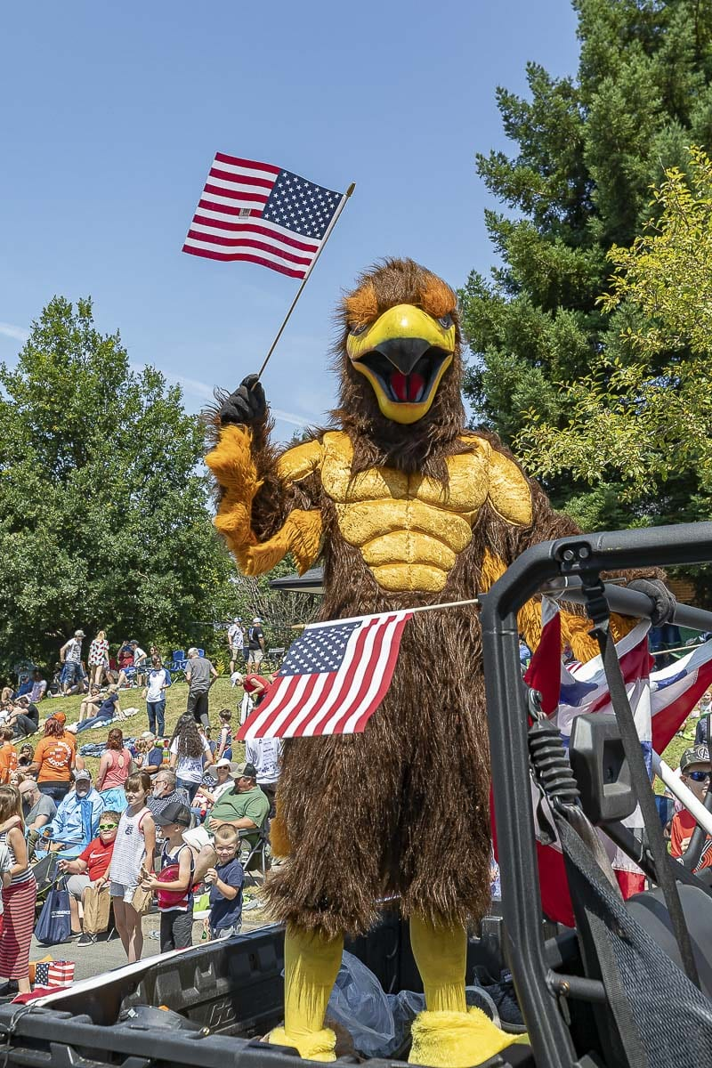 Old Meets New at the Ridgefield Fourth of July Celebration
