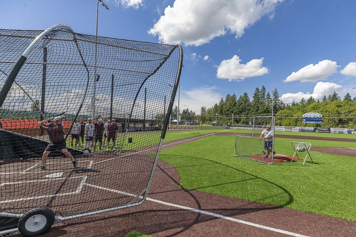 Batting Practice is as old as the game of baseball. It is part of the daily routine for baseball teams at all levels. Photo by Mike Schultz