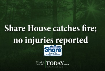 Share House catches fire; no injuries reported