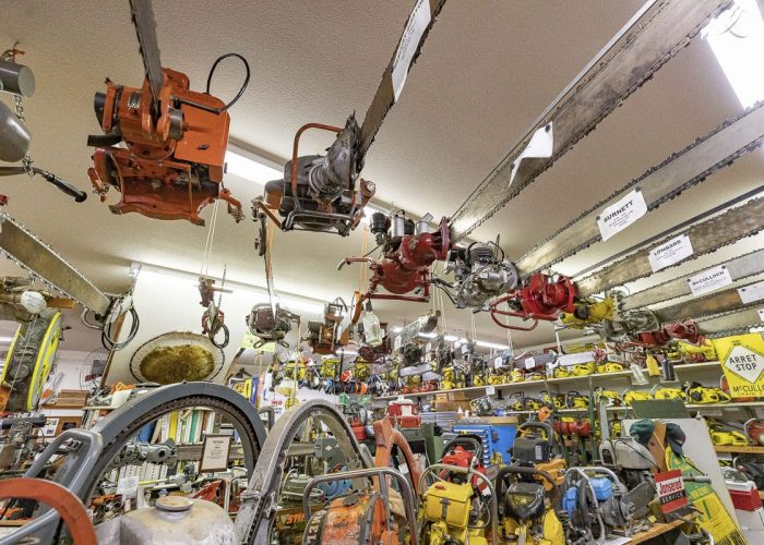 The Chainsaw Museum of Clark County