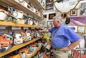 VIDEO: The Chainsaw Museum of Clark County