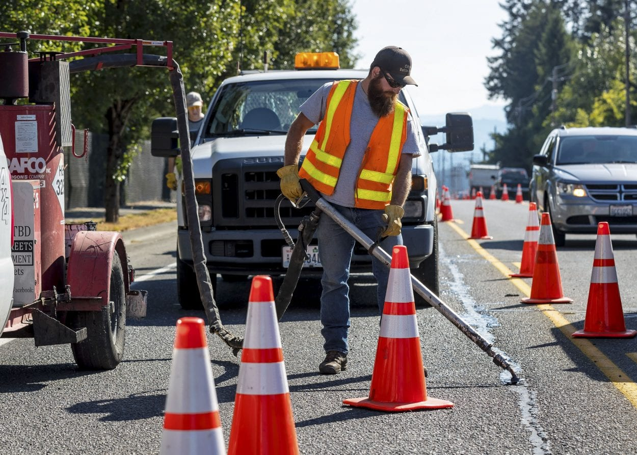 Battle Ground projects underway to maintain and preserve city roadways