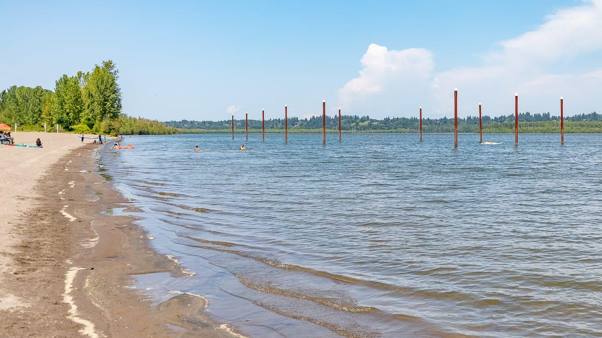 Vancouver Lake swim beach remains closed