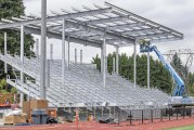 New stadium on the rise at King's Way Christian