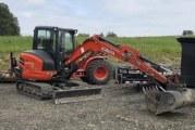 Battle Ground Police Department seeks public's help in Kubota excavator theft