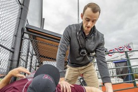 Raptors Report: Athletic trainer feels part of the team