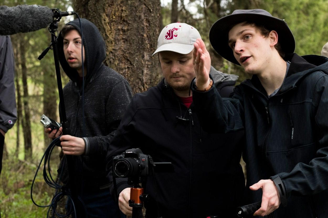 Area filmmaker premieres student-produced short film at Camas' Liberty Theatre