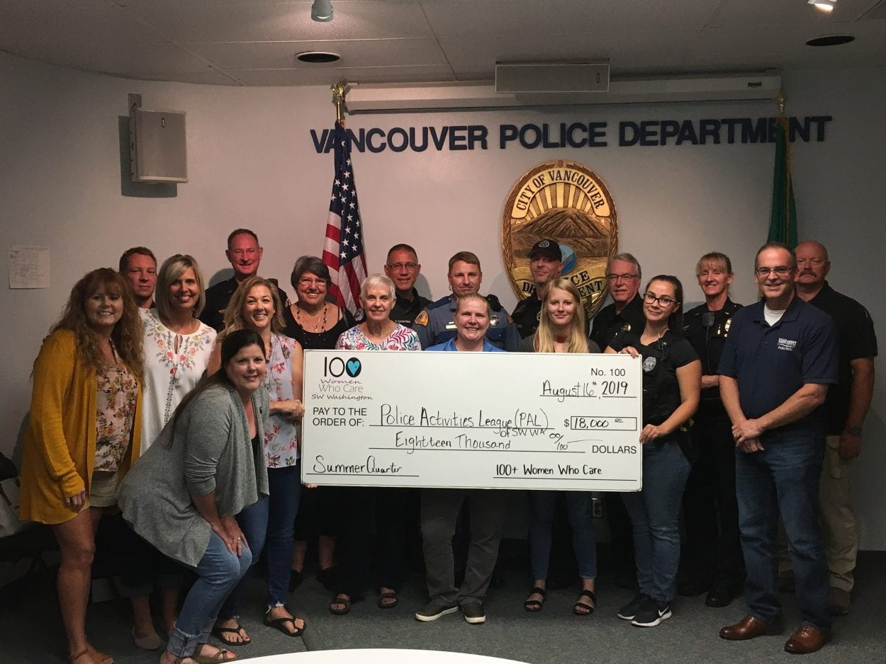 Our City Cares is latest recipient of 100+ Women Who Care Clark County donation