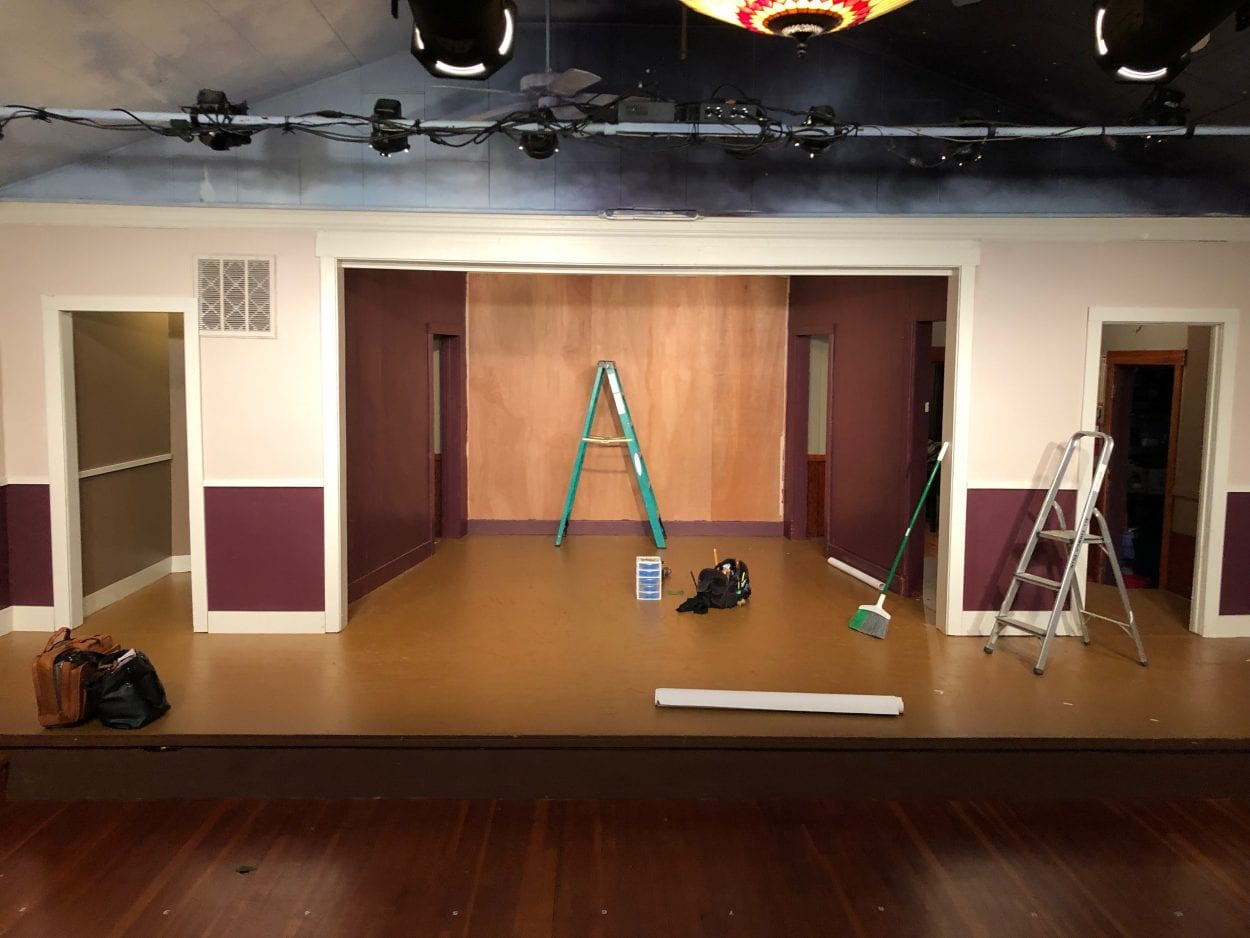 Patrons fund new stage remodel at Woodland's Love Street Playhouse