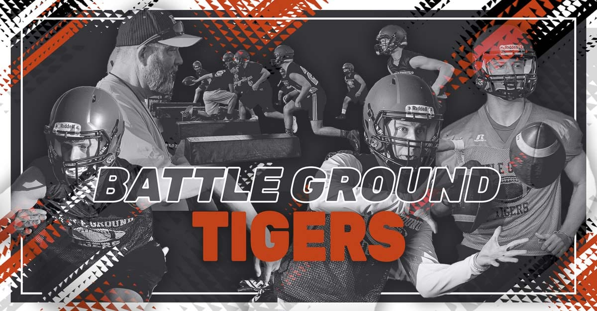 Battle Ground Tigers, Battle Ground Washington, Battle Ground High School, High School Football, Mike Kesler, Reid Schneider, Jordan Miner, Chris Dunne, 4AGSHL