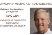 Gramor Development's Barry Cain keynote speaker at next Clark County Republican Women Dinner