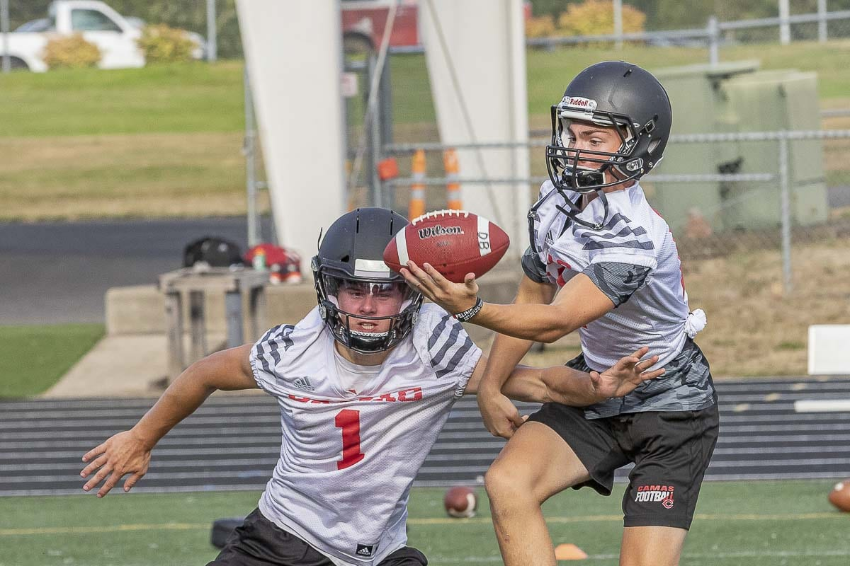 The Camas Papermakers are focused on proving that last year was a fluke, with five close losses. Photo by Mike Schultz