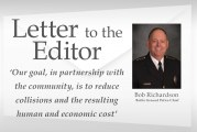 Letter: Battle Ground Police Chief offers message about traffic enforcement