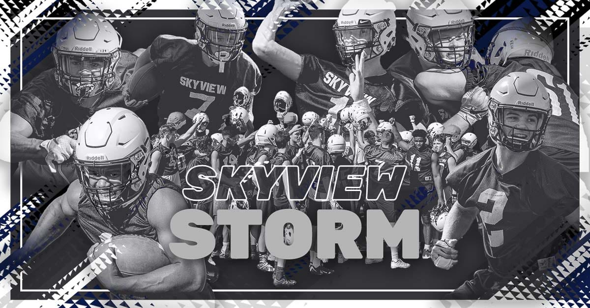 Skyview Storm, High School Football, Vancouver, Clark County, 4A GSHL, Yaro Duvalko, Ahmani Williams, Jalynnee McGee, Mason Wheeler, Jack Nitschke, Cooper Barnum