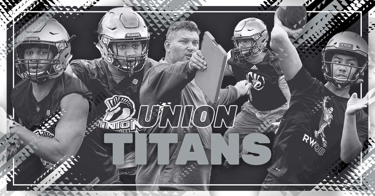 Union Titans, Union High School, Camas, High School Football, Rory Rosenback, Caleb Jordan, Isaiah Jones, Jack Grimsted, 4A GSHL
