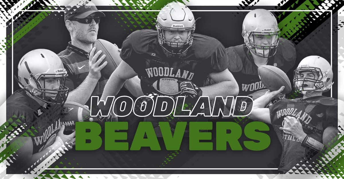 Woodland Beavers, Woodland, Class 2A Greater St. Helens League, high school football, Jason Bowman, Michael Karchesky, Isaiah Flanagan, Hunter Smith, Garrett Lutgen