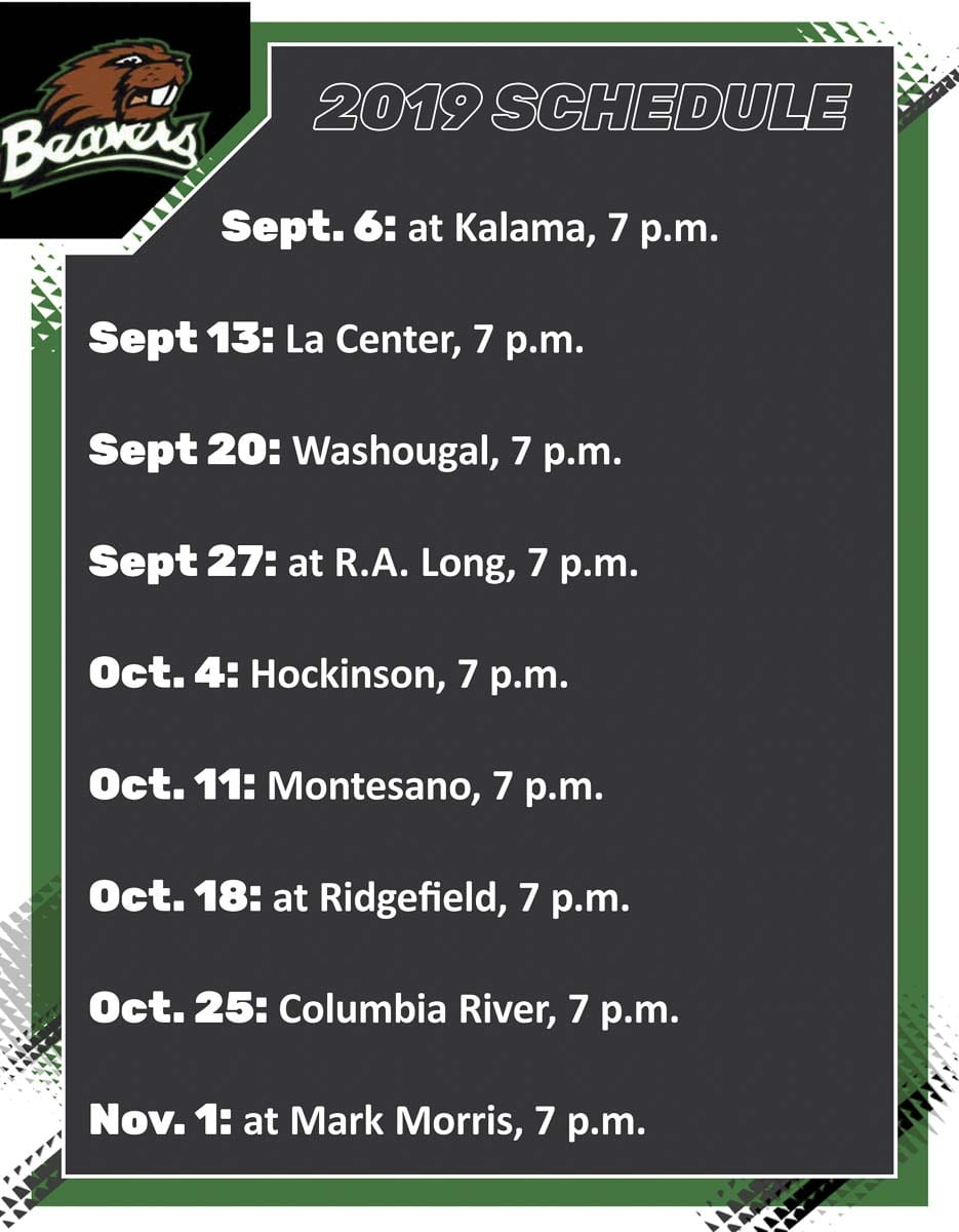Woodland Beavers Football Schedule 2019