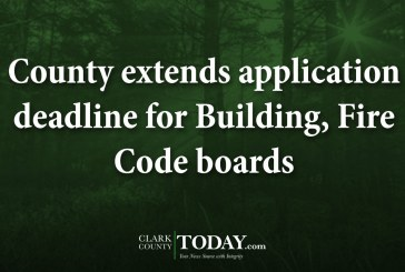 County extends application deadline for Building, Fire Code boards