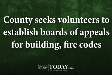 County seeks volunteers to establish boards of appeals for building, fire codes