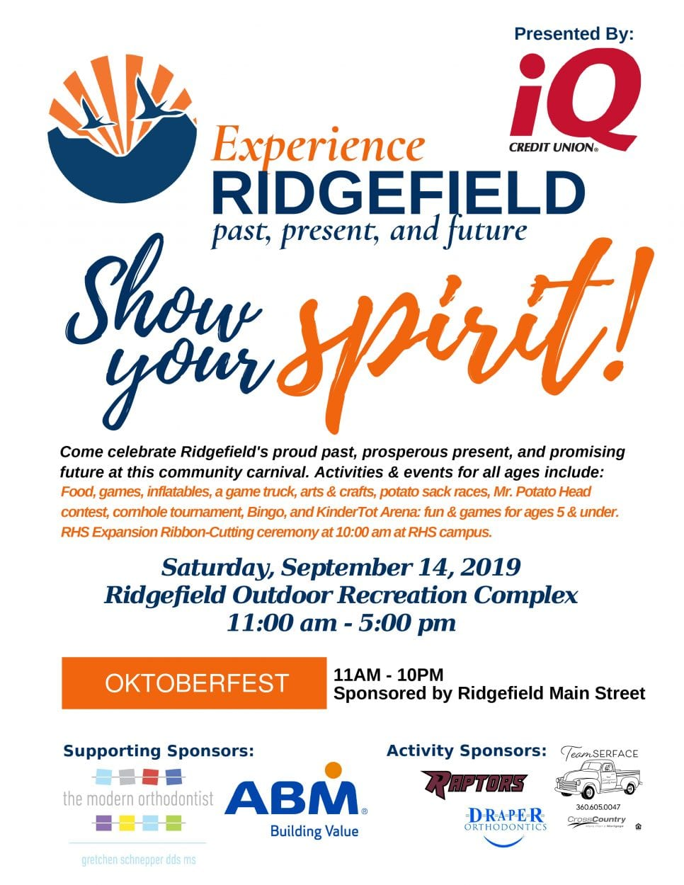 Ridgefield School District hosts Experience Ridgefield on Sat., Sept. 14