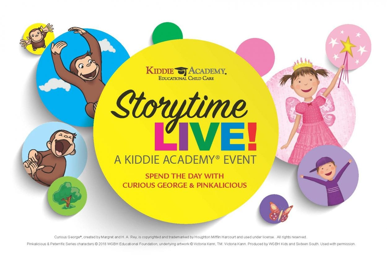 Kiddie Academy Fishers Landing to hold Storytime LIVE! Aug. 24