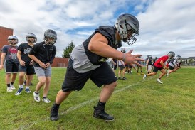 High school football: The joy of the first day of practice