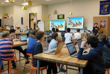 Computer Science electives popular at Sunset Ridge Intermediate School and View Ridge Middle School