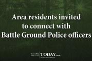 Area residents invited to connect with Battle Ground Police officers
