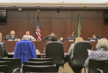Members of Battle Ground City Council vote in a pay increase