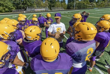 Class 2A/1A football notes: Columbia River celebrates coach's first victory