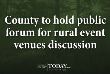 County to hold public forum for rural event venues discussion