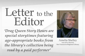 Letter: 'Drag Queen Story Hours are special storytimes featuring age-appropriate books from the library's collection being read by a paid performer'
