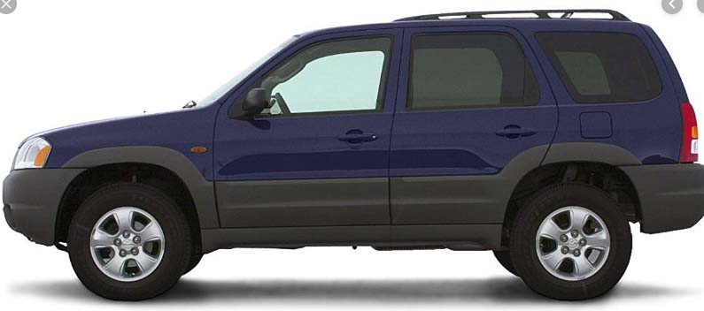 CCSO detectives are looking for a 2002-2005 Ford Escape SUV, or similar vehicle, with fresh passenger side damage, including missing a passenger side mirror. The suspect vehicle may or may not be the same color as this example photo. Photo courtesy of Clark County Sheriff's Office