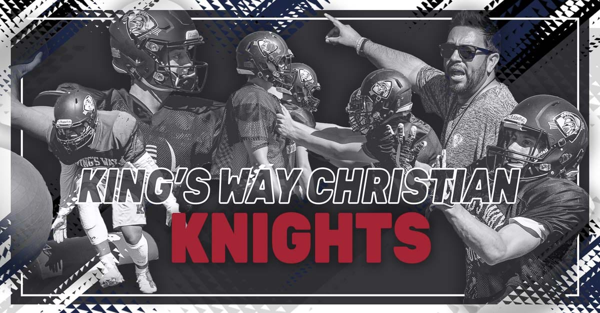 King's Way Christian Knights, Vancouver, Trico League, high school football, Kemper Shrock, Bryson Metz, Brian Rodriguez